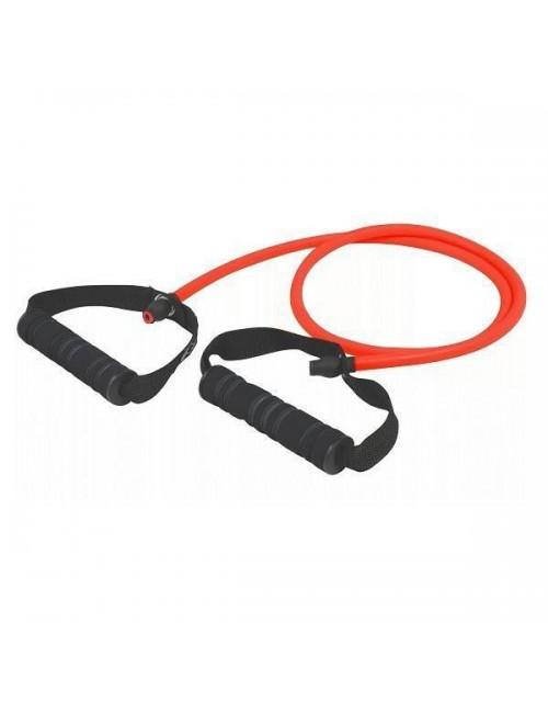 Κόκκινο λάστιχο γυμναστικής με μαύρες λαβές, Kfit KF-001